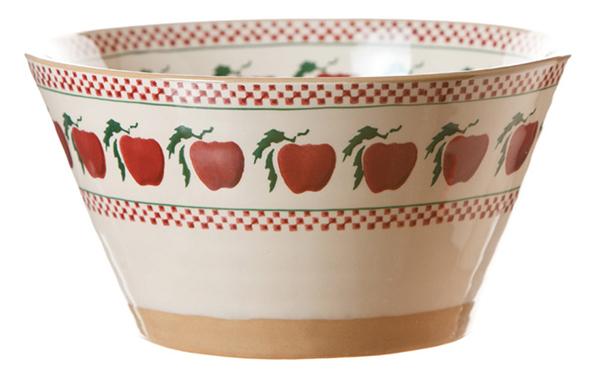 Apple Angled Bowl Large