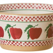 Apple Angled Bowl Small