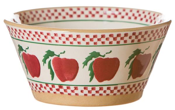 Apple Angled Bowl Small