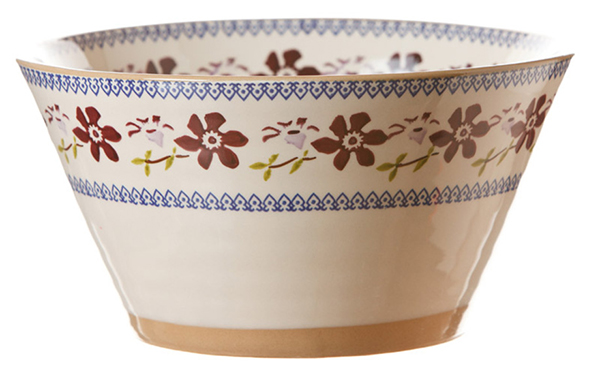 Clematis Angled Bowl Large