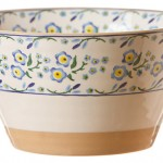 Nicholas Mosee Forget Me Not Angled Bowl Large