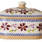 Nicholas Mosse Covered Butter Dish Clematis