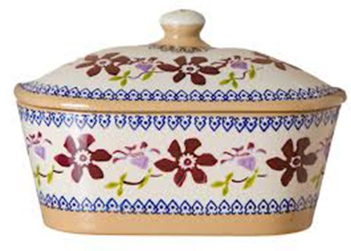 Nicholas Mosse Clematis Butter Dish