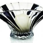 Newgrange Living Black Fan Ball Candle Holder