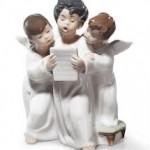 Lladró Porcelain figurines Angel Group
