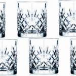 Killarney Crystal Trinity Whiskey Set Of 6