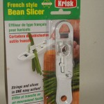 French Style Bean Slicer