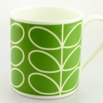 Large Orla Kiely Green Stem China Mug