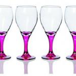 Newgrange Pink Vienna Wine Glass