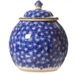 Nicholas Mosse Lawn Dark Blue Cookie Jar