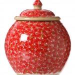 Nicholas Mosse Red Lawn Cookie Jar