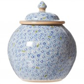 Light Blue Lawn Cookie Jar