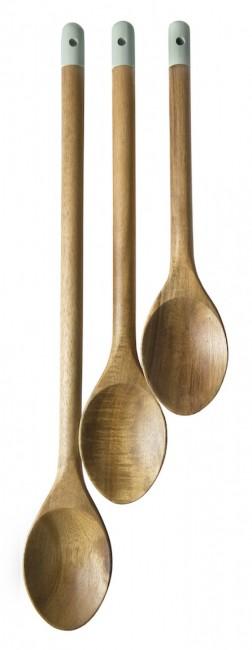 jamie oliver 3pc wooden spoon set