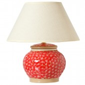 nicholas mosse Lawn Red 5 inch Lamp