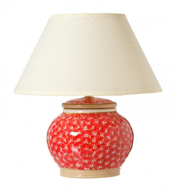 nicholas mosse Lawn Red 7 inch Lamp