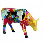 The Cow Parade Hommage to Picowso's African Period (Museum Edition)