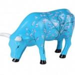 The Cow Parade For Vincent Medium Ceramic Cow