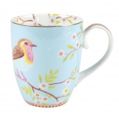 large blue mug eary bird