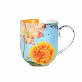 large royal flower mug