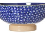 Nicholas Mosse Vegetable Bowl Dark Blue Lawn