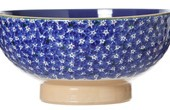 nicholas mosse veg bowl dark blue lawn