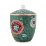 Pip Studio Green Spring to Life Medium Storage Jar