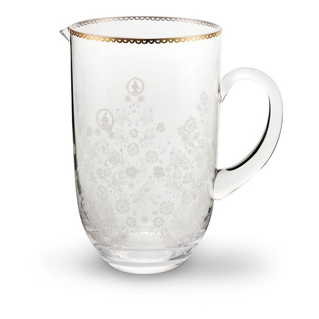 51.074.001 floral water pitcher
