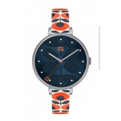 orla kiely navy ivy watch ok2137