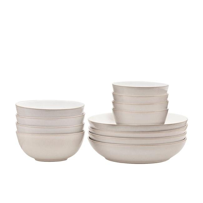 denby canvas 12 pc bowl set 375040600