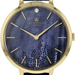 Sara Miller Diamond Collection Watch - Navy