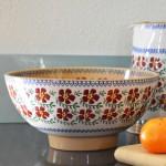 Nicholas Mosse Salad Bowl Old Rose