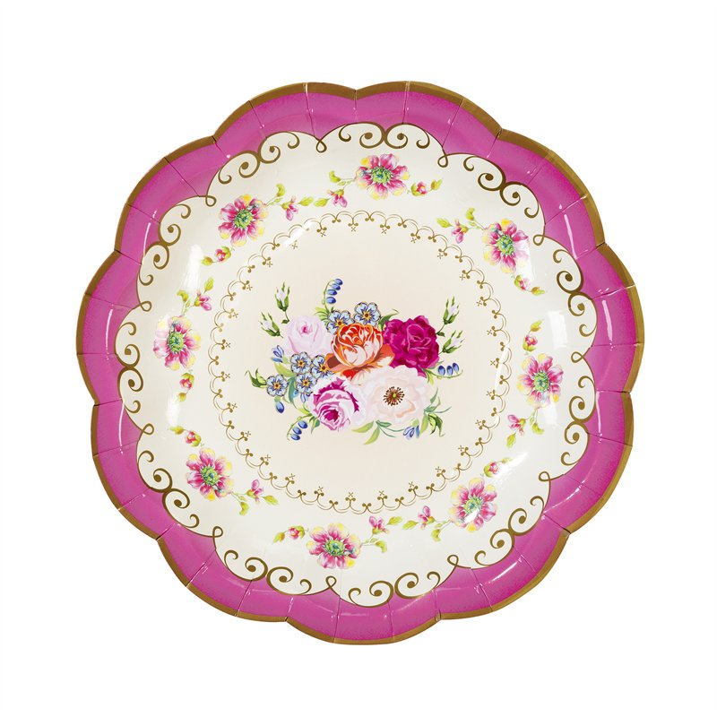 Truly Scrumptious Vintage Paper Plates | My CMS