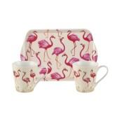 Flamingo tray 1