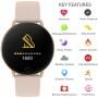 Pink Smart Watch 5 - Reflex Active